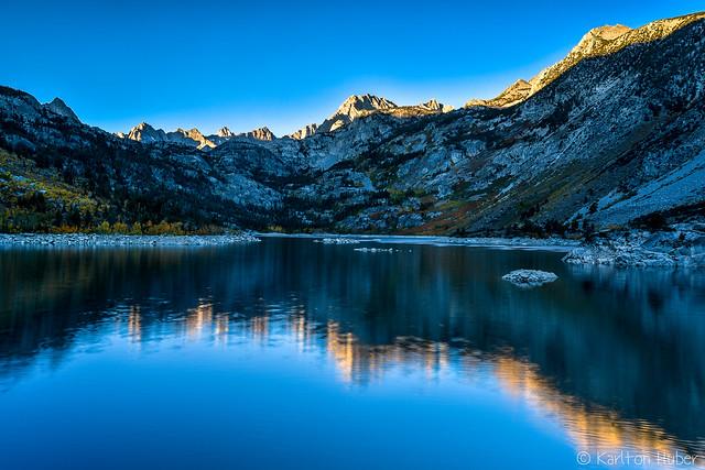 Fall Colors - Lake Sabrina Reflections