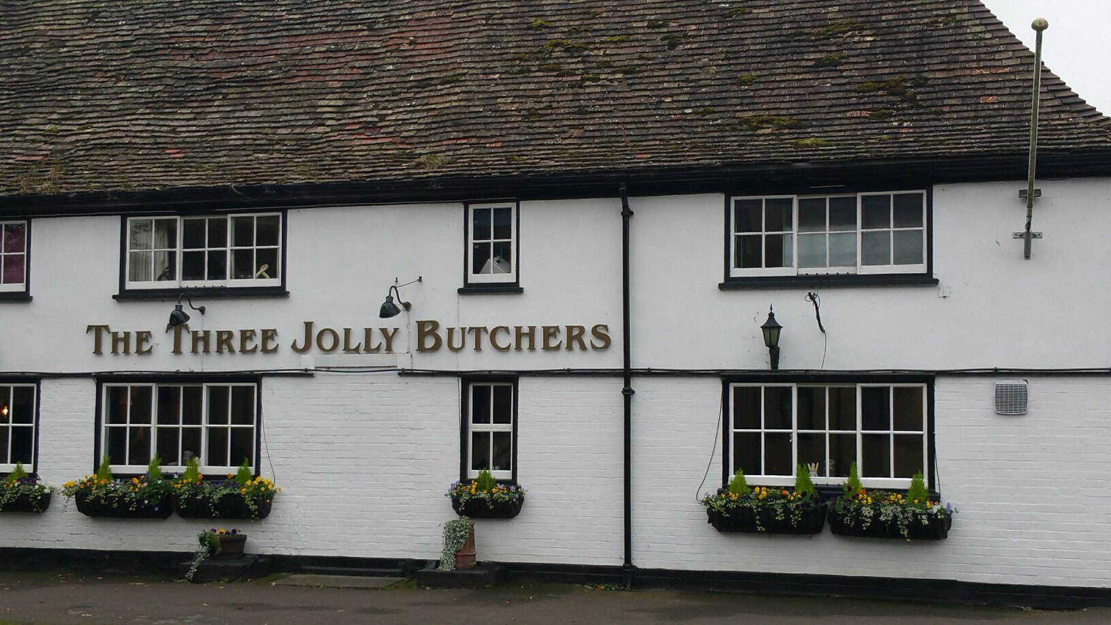 Three Jolly Butchers Many thanks to Marc for this photograph