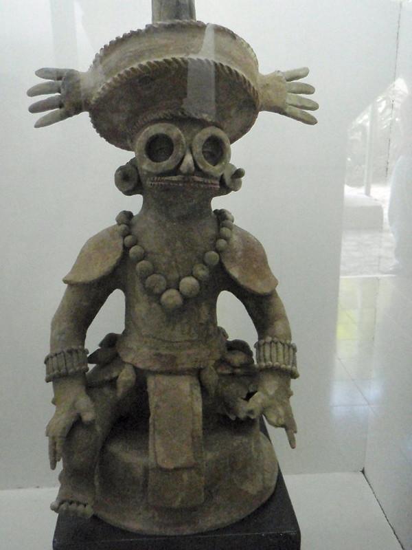 Incense burner depicting of K'inich Yax K'uk' Mo