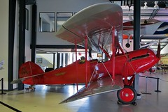 NC3957 Waco GXE Model 10 @ Santa Monica Museum of Flying 26th July 2015