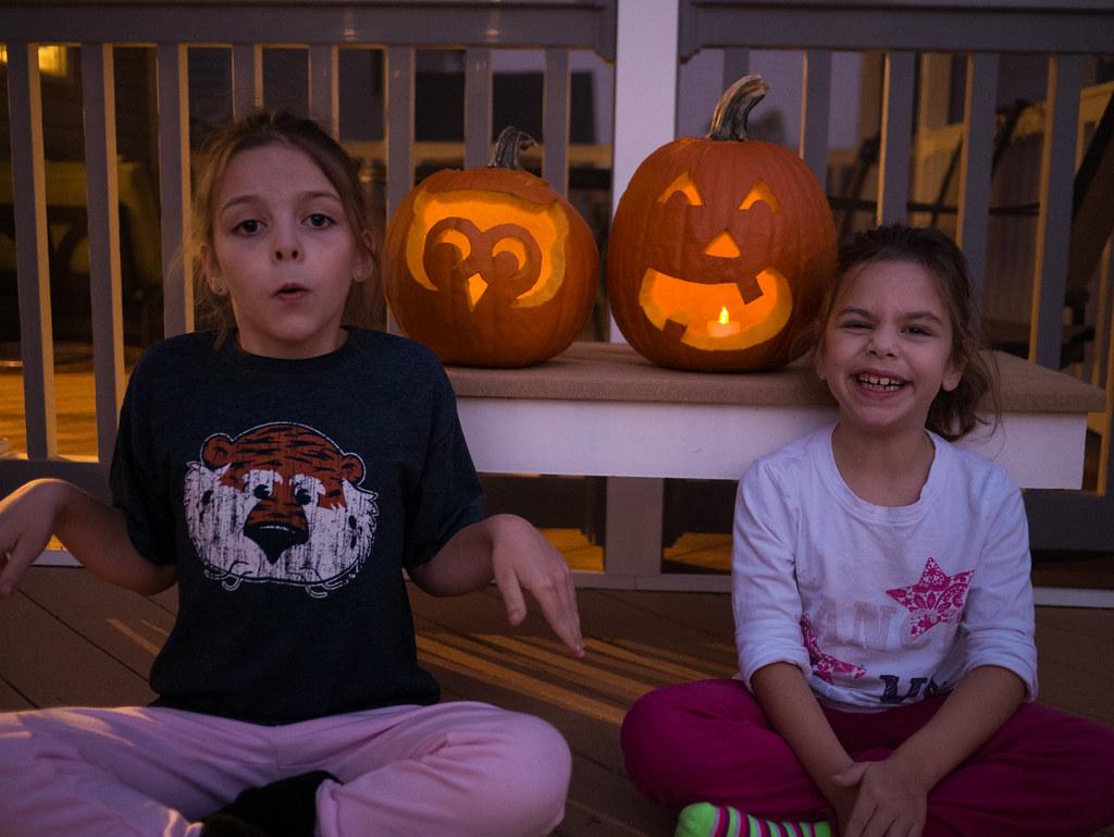 Complete pumpkins