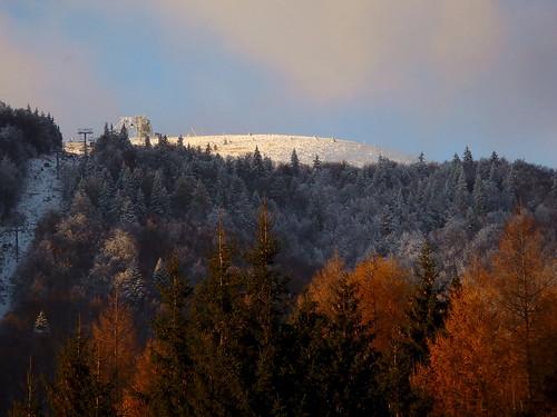 donovaly slovakia hill nováhoľa snow