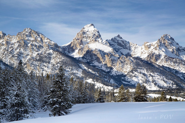 the TETONS - the 'American Alps'