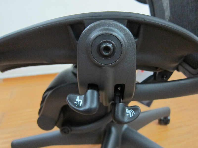 Herman Miller Aeron Chair - Forward Tilt + Tilt Limiter