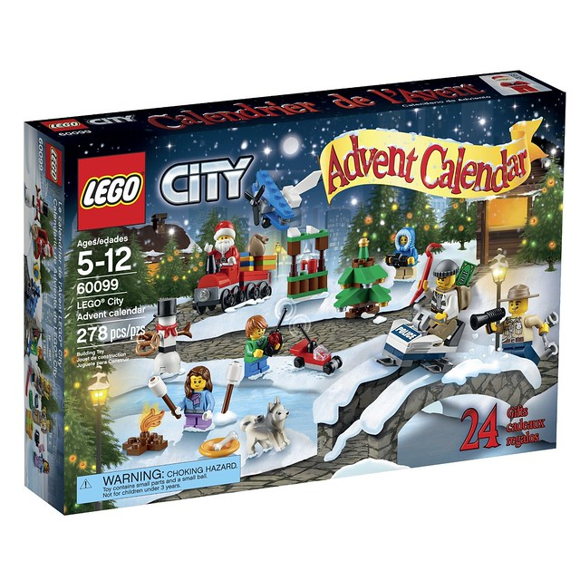 60099 LEGO City Advent Calendar