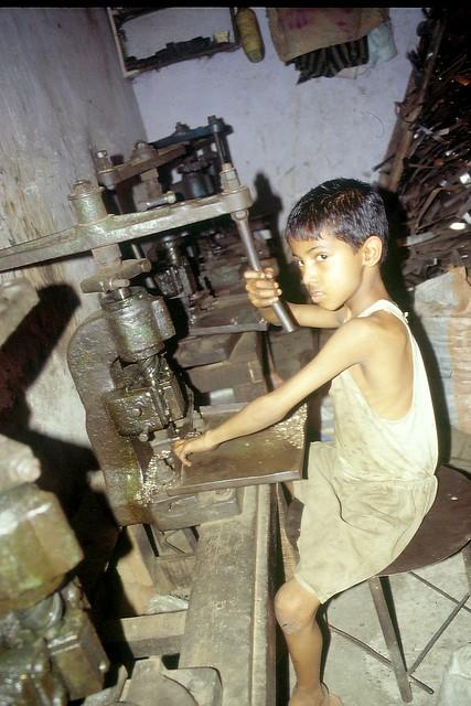 Kinderarbeit: Werkstätten
