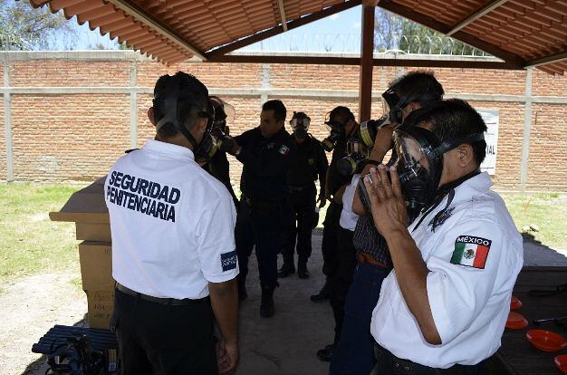 DGPyRS capacita a 19 custodios distritales en control de disturbios