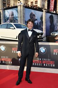 ทอม ครูซ นำทีมนักแสดงร่วมงานรอบปฐมทัศน์ภาพยนตร์ Mission: Impossible: Rogue Nation ที่เวียนนา ออสเตรีย