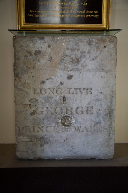 The Foundation Stone for the Theatre Royal, Covent Garden (now Royal Opera House) © ROH, 2012