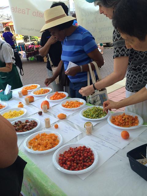 2015 Washington Gardener Magazine Tomato Taste
