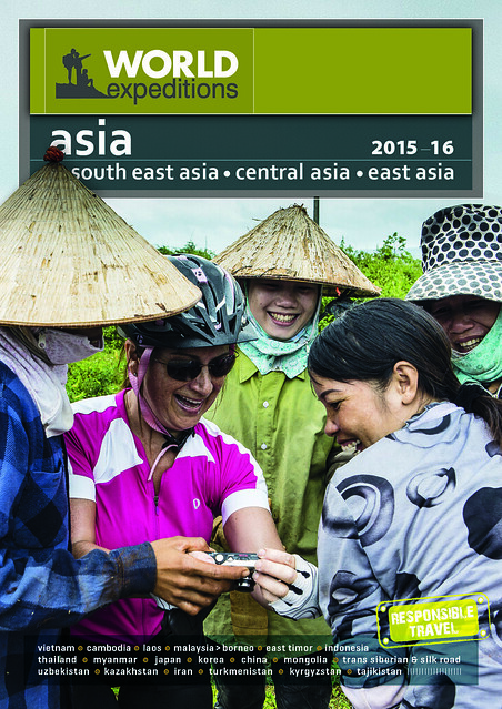 World Expeditions new 2015-16 Asia brochure