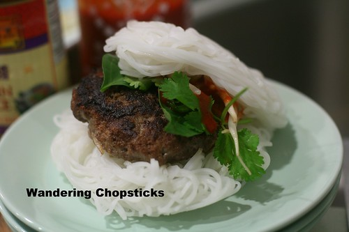 Pho Burger with Vietnamese Beef Noodle Soup Spices 1