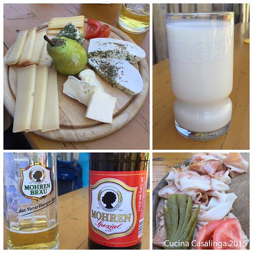 Mellau Alp Buchen Essen