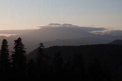 Volcanic shadows