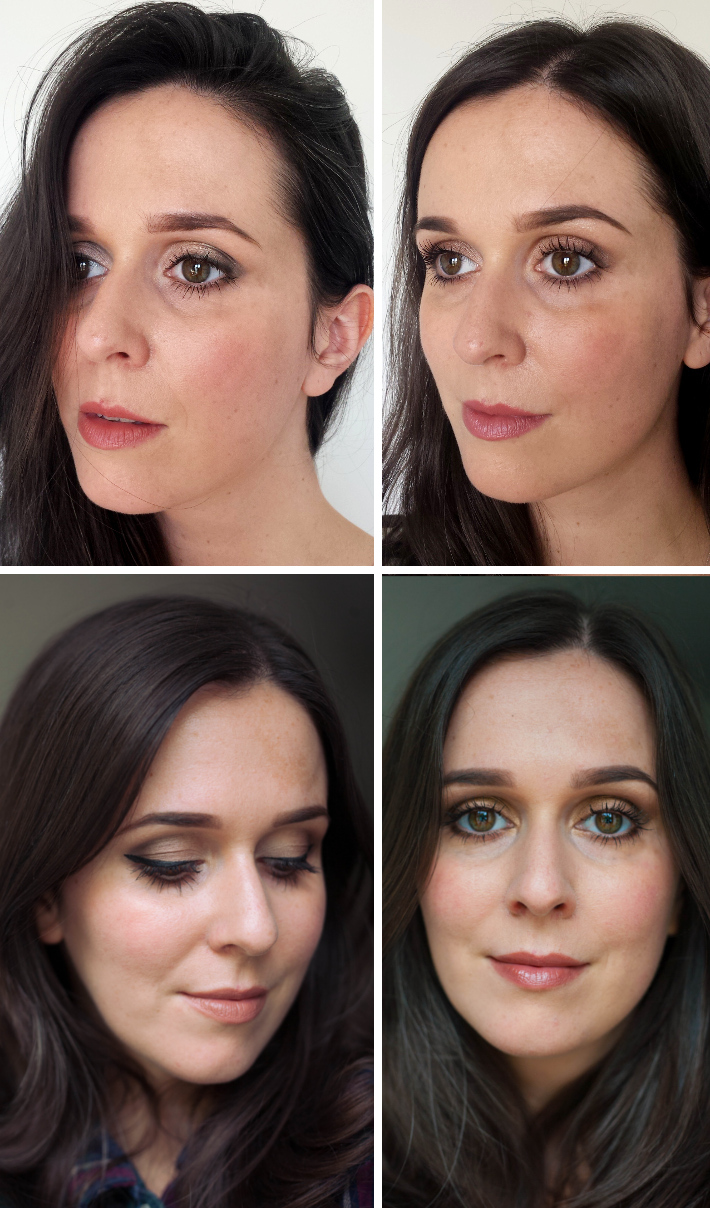 Four looks using the Naked original palette