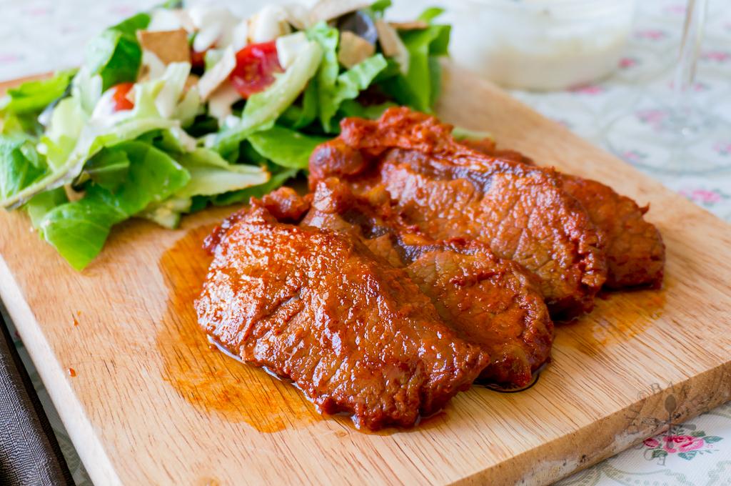 Gochujang Beef Steaks