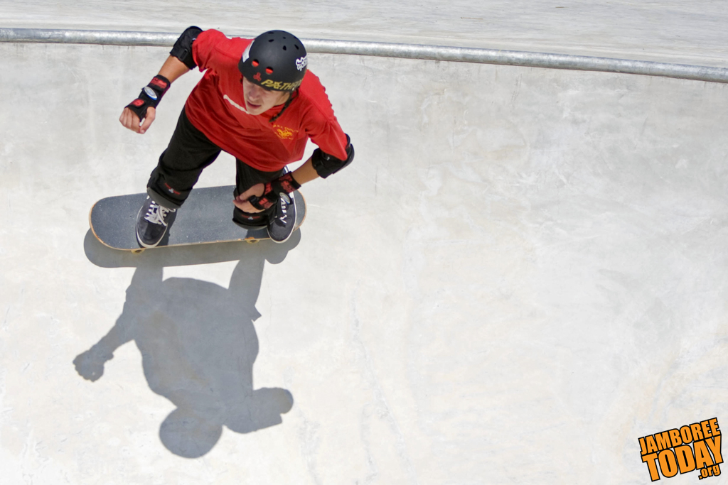 Aircraft Carrier-Sized Skate Park Welcomes Skaters New and Experienced