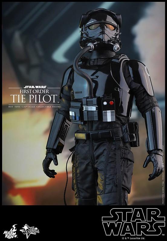 Star Wars 7 - Le réveil de la Force Les pilotes Tie chez Hot Toys