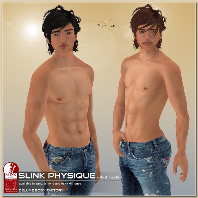 [DBF] Peter Daichi SLINK Physique male AD