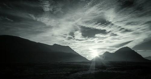 Buachaille Sunset