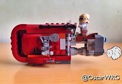 #LEGO #StarWars #Rey #Speeder #Jakku #LEGOstarWars @lego_group @lego @bricknetwork @brickcentral @starwars