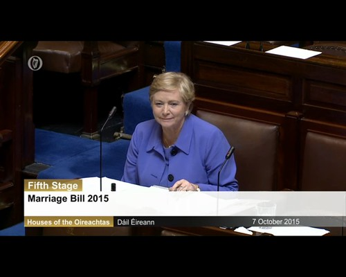 Marriage Bill - Approved by Dail