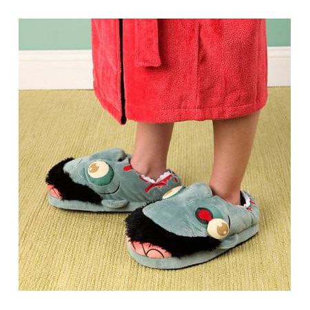 Win a Pair of Zombie Slippers