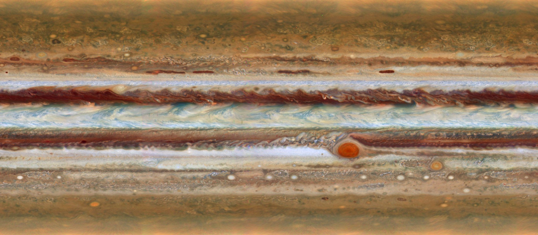 Amazing New Maps of Jupiter: Photography by NASA