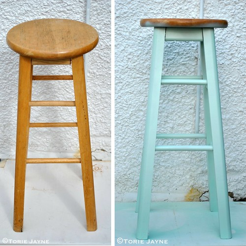 Stool makeover