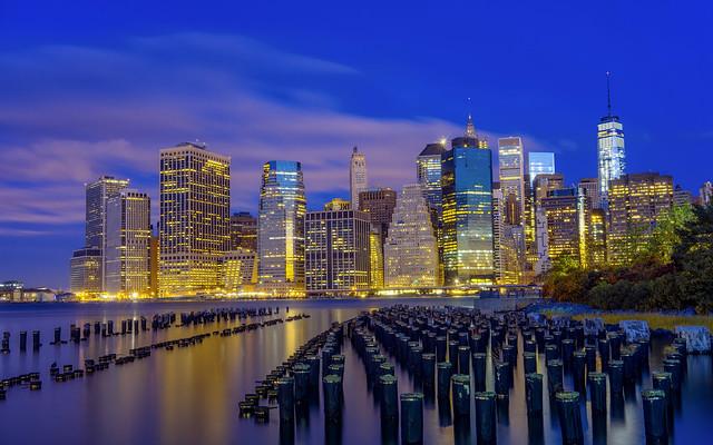 Lower Manhattan From Brooklyn Piers