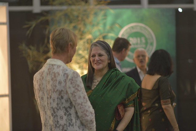Mrs. Radhika Barthakur, Trustee Balipara Foundation at the Awards Ceremony