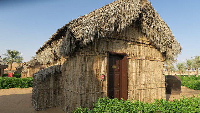arabian nights village wooden hut