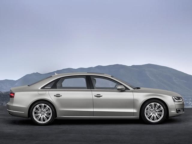 Audi A8. Кузов D4