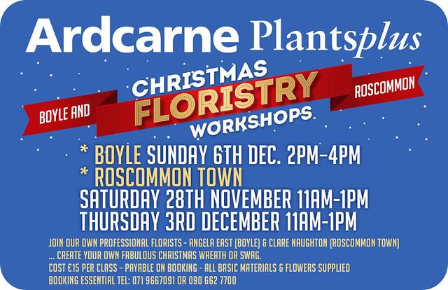 Ardcarne Floristry Workshops