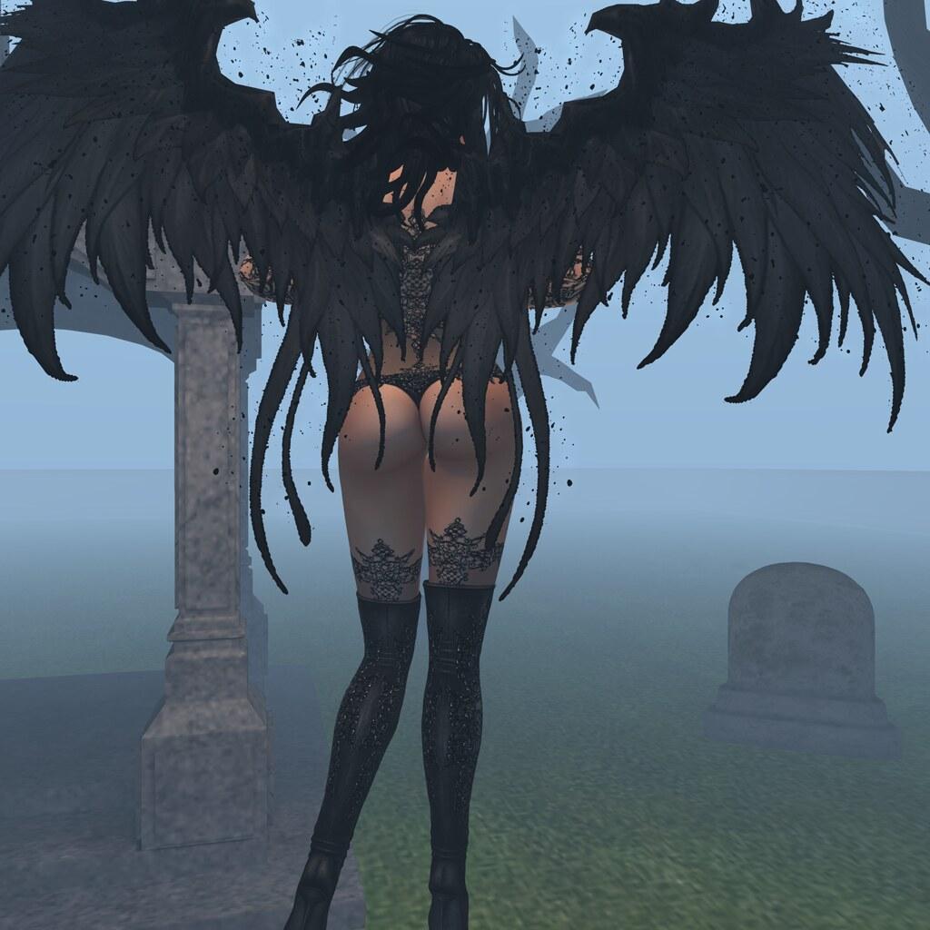 A dark messenger arrives