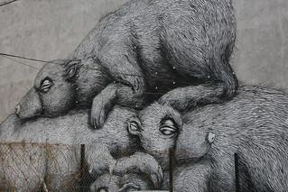 Roa's art Smolna.
