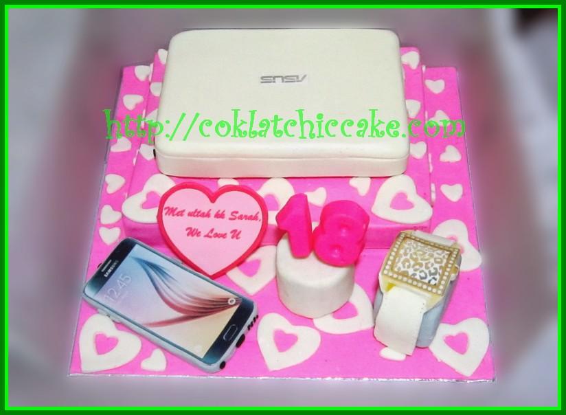 Cake Laptop Asus dan Samsung