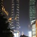 Chongqing, towers at night by blauepics