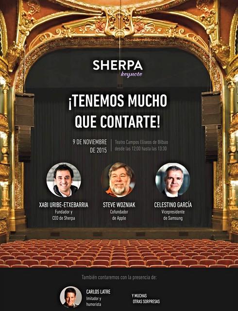 Sherpa Summit Bilbao 2015