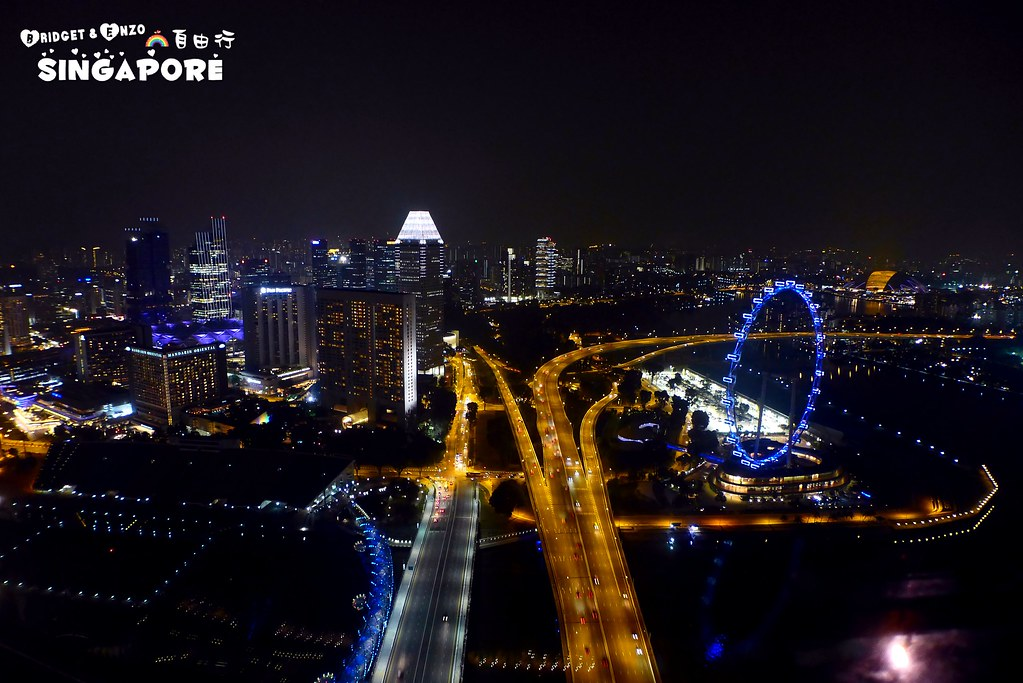 SANDS SKYPARK夜景8