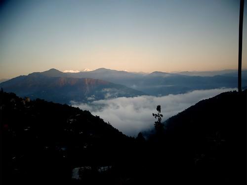 india sunrise kalimpong
