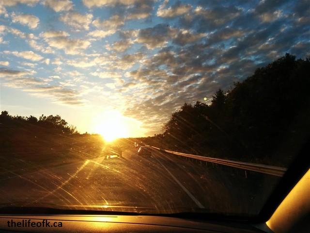 Toronto Trip Sunset