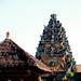 Bali 2015, Pura Puseh Temple Batuan, temple skyline WM