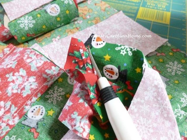 Quick Christmas squares 4