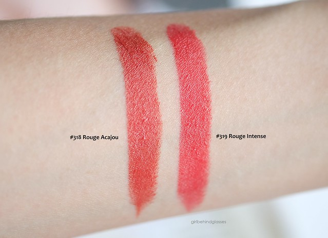 Givenchy Le Rouge Vinyl Collection 2015 swatches