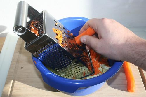 27 - Möhren reiben / Grate carrots