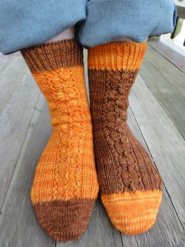 I Love You More Than Pumpkin Spice Socks