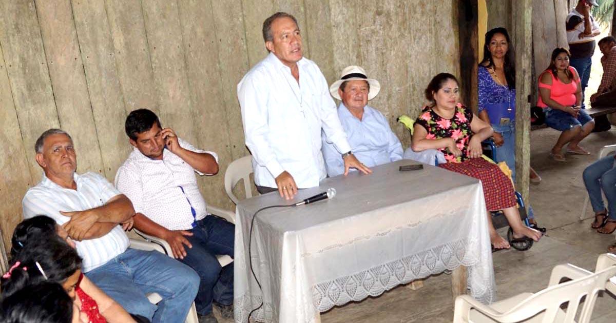 Alcalde de Chone mantuvo reuniones con comunidades rurales