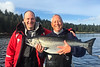 Salmon fishing at Langara Island Lodge