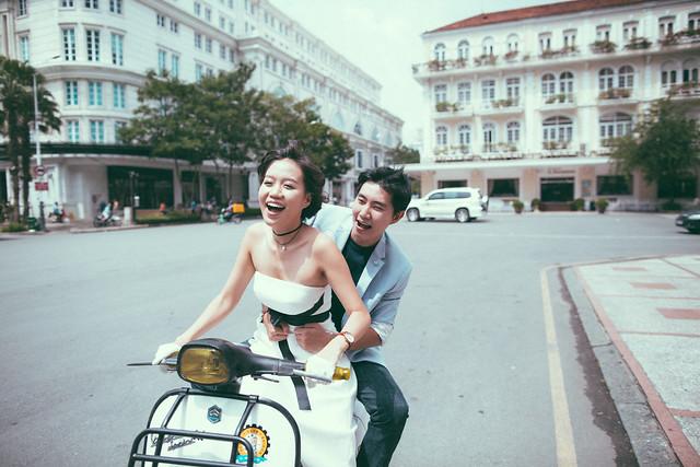 Joy Ride in Saigon